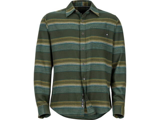 Marmot Enfield Midweight Flannel LS Shirt Herr rosin green